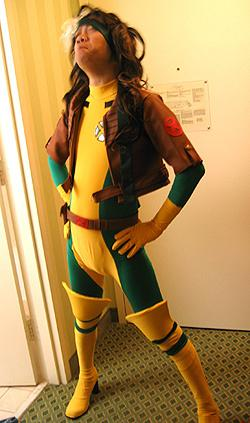 Rogue from X-Men worn by Lionboogy