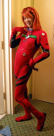 Asuka Langley Sohryu from Neon Genesis Evangelion worn by Lionboogy