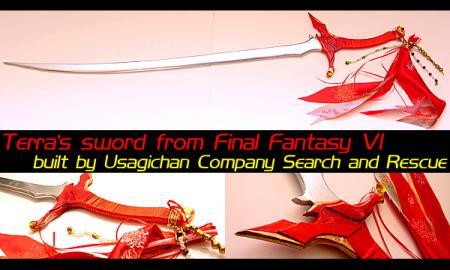 Terra Branford from Final Fantasy VI worn by Lionboogy