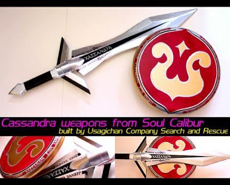 Cassandra Alexandra from Soul Calibur 2 worn by Lionboogy