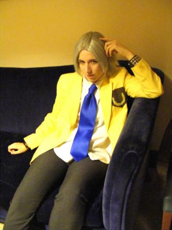 Hayato Gokudera from Katekyo Hitman Reborn! (Worn by Ellome)