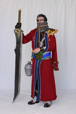 Auron from Final Fantasy X worn by negativedreamer