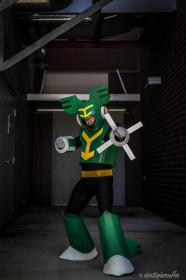 Tornado Man from Mega Man 9 worn by negativedreamer