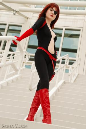 Molotov Cocktease from Venture Bros. worn by Sewing Sasha