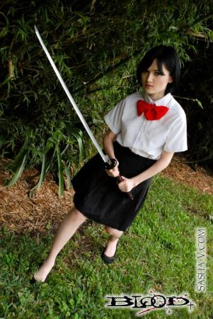 Saya Otonashi from BLOOD+ worn by Sewing Sasha