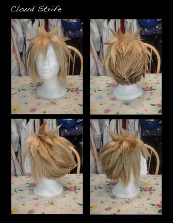 Cloud Strife from Final Fantasy VII: Advent Children worn by Yaminogame