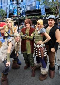 Hiccup from How to Train Your Dragon worn by Yaminogame