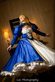 Saber from Fate/Zero worn by Devon
