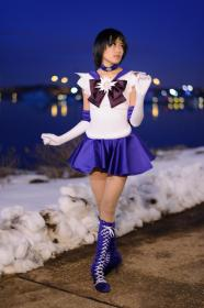 Sailor Saturn from Sailor Moon S