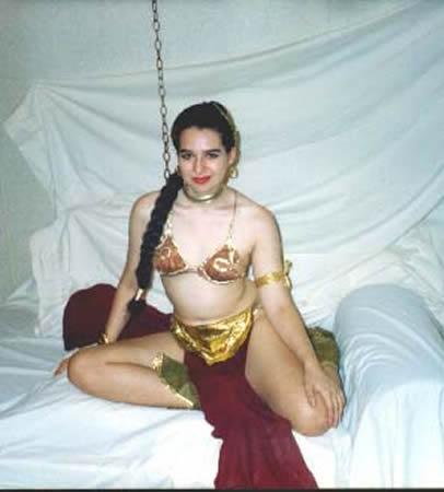 Princess Leia from Star Wars Episode 6: Return of the Jedi