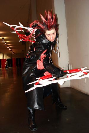 Axel from Kingdom Hearts 2 worn by Tenshiryuu