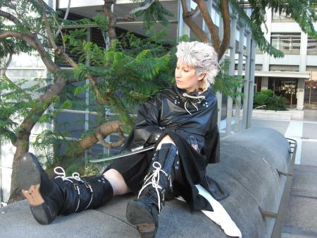 Chipp Zanuff from Guilty Gear XX worn by Tenshiryuu