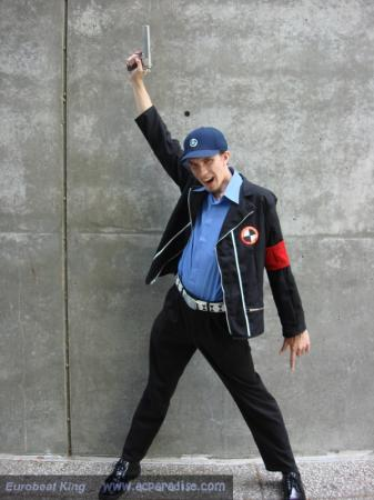 Junpei from Persona 3 worn by Styxiedust