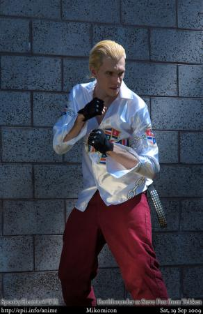 Steve Fox from Tekken worn by Styxiedust