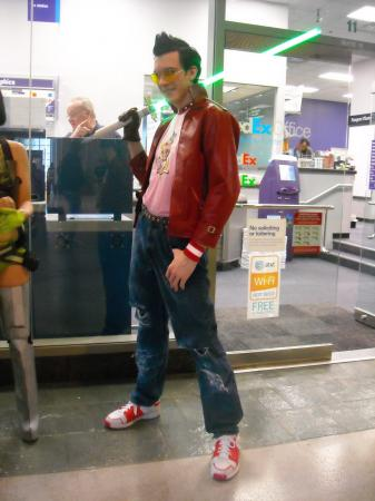 Travis Touchdown from No More Heroes worn by Styxiedust