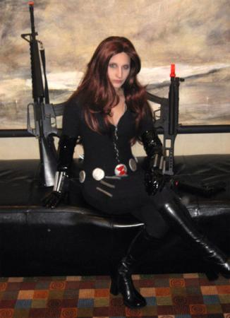 Black Widow from Daredevil worn by Arlette