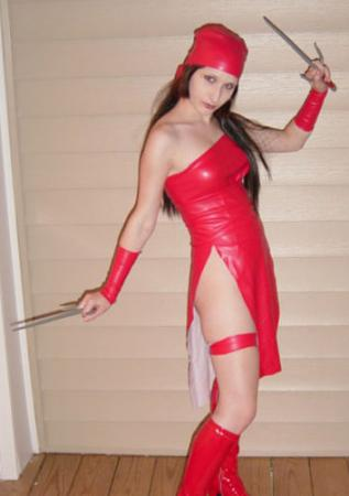 Elektra Natchios from Daredevil worn by Arlette