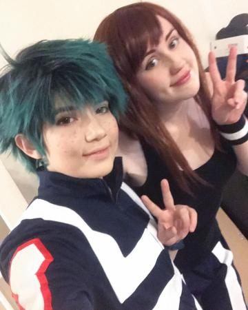 Izuku Midoriya from My Hero Academia worn by SpPandaaa