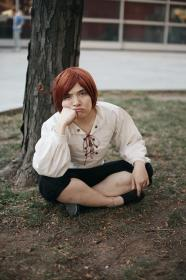 Italy (Romano) / Lovino Vargas from Axis Powers Hetalia (Worn by SpPandaaa)