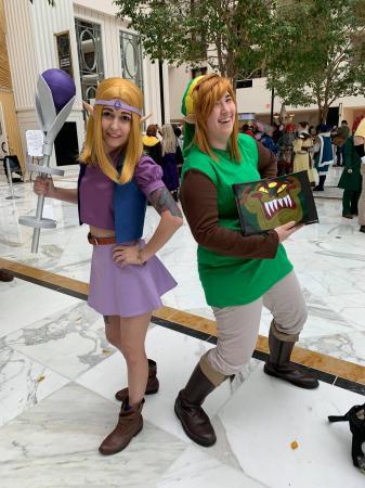 Zelda from Zelda: The Wand of Gamelon