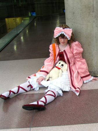 Hinaichigo from Rozen Maiden worn by Cepia