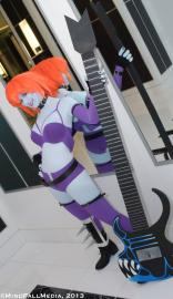 Lord Raptor / Zabel Zarrock from Darkstalkers worn by Starlightslk