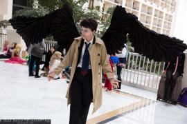 Castiel from Supernatural worn by Ave Maria