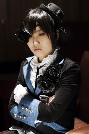 Ciel Phantomhive from Black Butler worn by makoto*