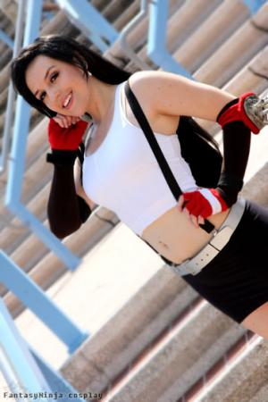 Tifa Lockhart from Final Fantasy VII worn by FantasyNinja