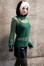 Rogue from X-Men worn by Callesto