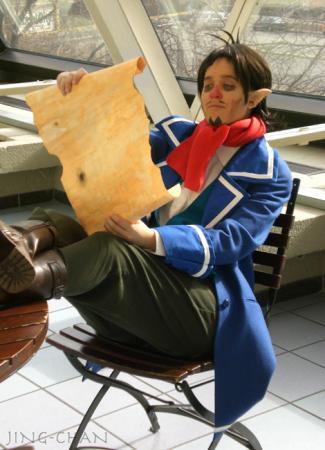 Linebeck from Legend of Zelda: Phantom Hourglass