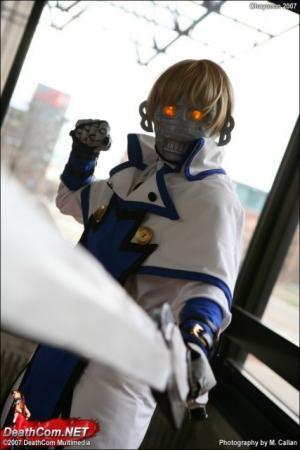 Robo-Ky from Guilty Gear XX