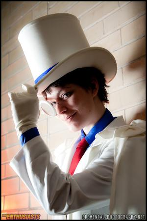 Kaitou Kid from Detective Conan worn by AVA