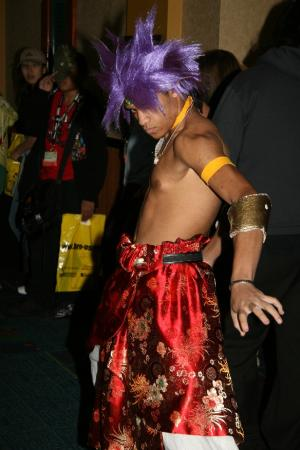 Broly from Dragonball Z worn by Maguma