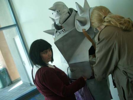 Alphonse Elric from Fullmetal Alchemist worn by Fireshark