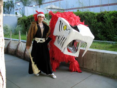 Renji Abarai from Bleach worn by Fireshark