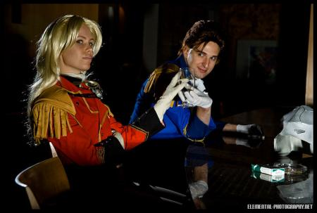 Zechs Merquise from Mobile Suit Gundam Wing worn by Shinteetah