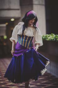 Esmeralda from Hunchback of Notre Dame worn by navigated
