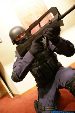 Heavy Genome Trooper from Metal Gear Solid