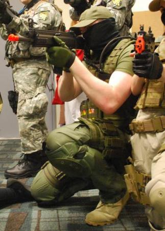 PMC (Pieuvre Armement) from Metal Gear Solid 4: Guns of the Patriots