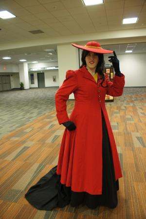 Carmen Sandiego from Carmen Sandiego worn by Elycium