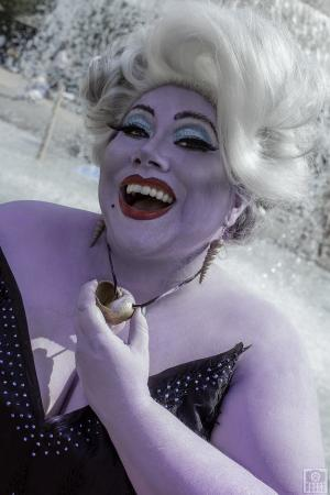 Ursula from Little Mermaid worn by Lunaladyoflight