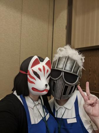Okitsune Mask-san from Gaikotsu Shotenin Honda-san