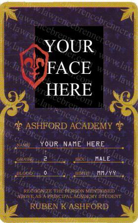 Ashford Academy Student worn by Outlaw
