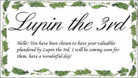 Arsène Lupin III from Lupin III