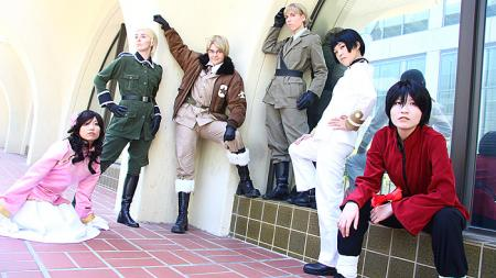 Japan / Honda Kiku from Axis Powers Hetalia worn by Linefaced