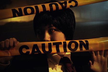 Tohru Adachi from Persona 4 worn by Linefaced