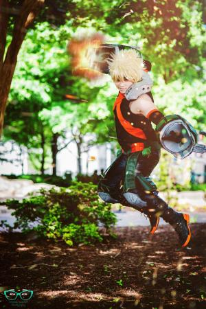 Bakugo Katsuki from My Hero Academia