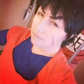Gohan from Dragonball Z worn by Hokaido Planet