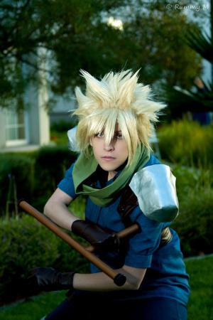 Cloud Strife from Final Fantasy VII: Crisis Core worn by Eeyora